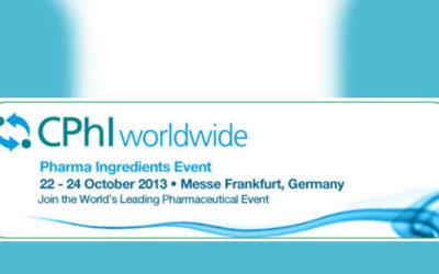 Messehinweis – CPhI 2013 in Frankfurt
