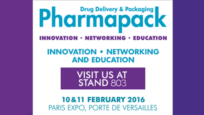 Gaplast at the Pharmapack 2016 in Paris