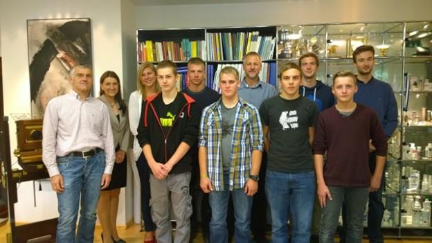 Gaplast: Jetzt sechzehn Auszubildende
