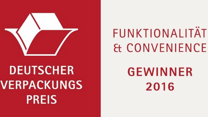 Gaplast – Gewinner des deutschen Verpackungspreises 2016!