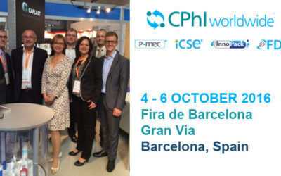 GAPLAST draws a positive review as exhibitor at the CPhI Europe in Barcelona
