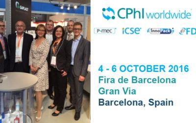 GAPLAST zieht ein positives Resümee als Aussteller auf der CPhI Europe in Barcelona