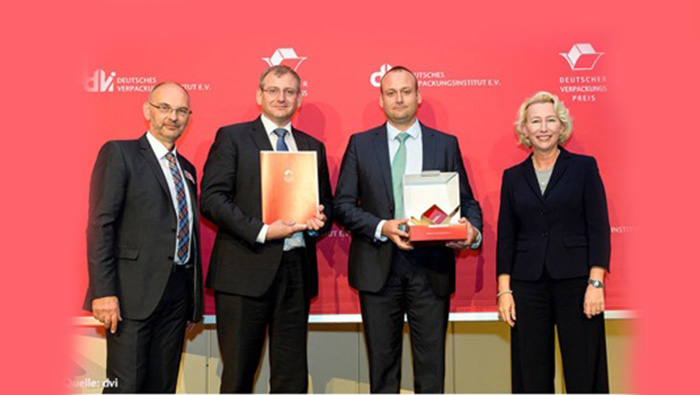 """Gaplast freut sich über die Auszeichnung """"Deutscher Verpackungspreis 2016"""""""