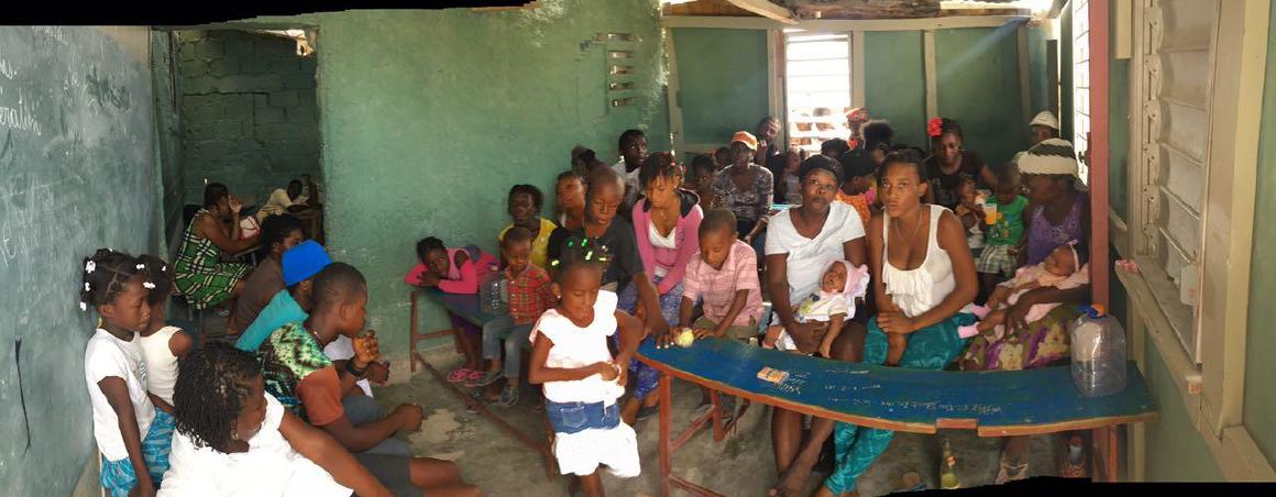 Gaplast and Help to Haiti - Mobile Clinic 2016 Titanyen