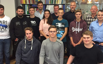 Nine new apprentices for Gaplast