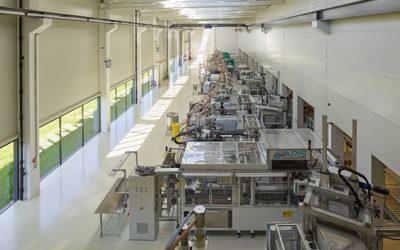Peneder kombiniert ansprechende Industriearchitektur mit smarter Gebäudetechnik für Gaplast