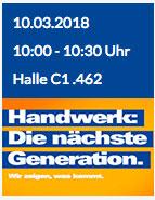 ihm - gaplast Vortrag : 10.03.2018 10:00 - 10:30 Uhr Halle C1 .462