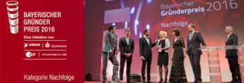 2016 Nominated at BAYERISCHER GRUENDERPREIS