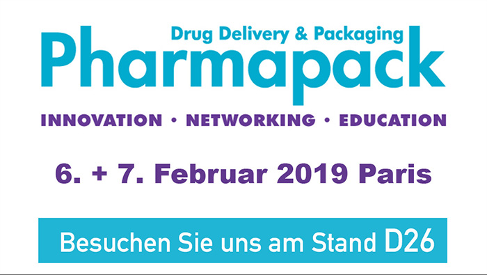 Gaplast auf der Pharmapack 2019 in Paris