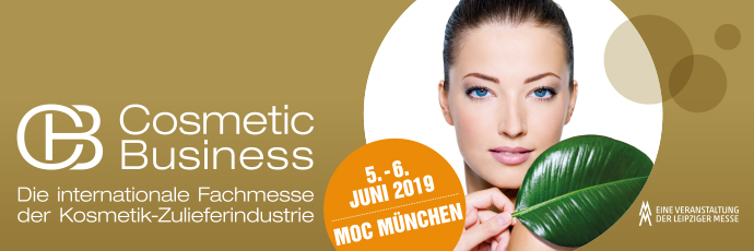 Cosmetic Business 2019 in Munich