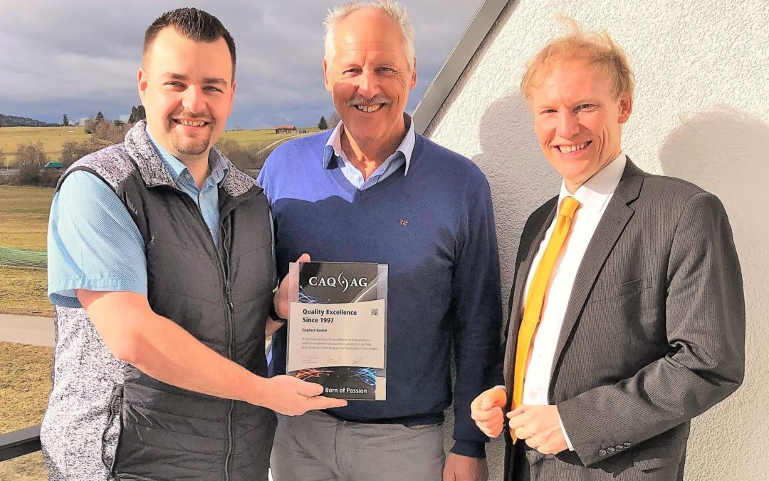 Quality Excellence Award für Gaplast