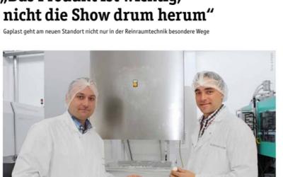 """""""Das Produkt ist wichtig, nicht die Show drum herum"""""""