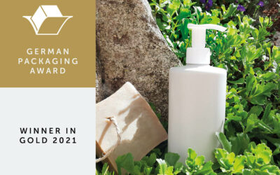 Deutscher Verpackungspreis Gold Gewinner 2021